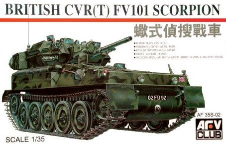 British FV-101 Scorpion 1-35 AVF Club by AFV Club