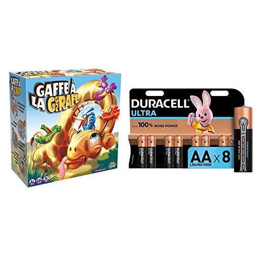 Splash Toys - Gaffe A La Girafe+Duracell Ultra+Duracell Ultra