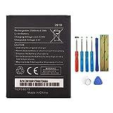 Swark WIKO 2610 Batería compatible con Wiko Jerry 2 Jerry 3 Tommy 3 con herramientas