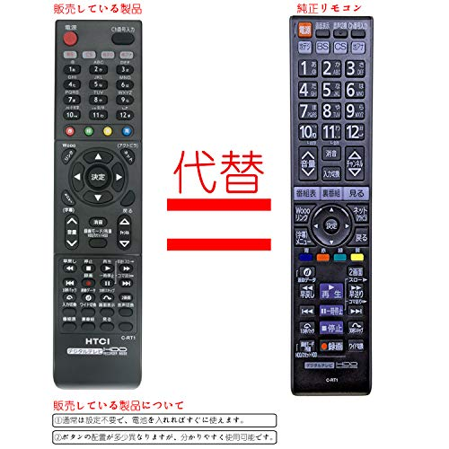 『PerFascin C-RT1 リプレイスリモコン 代替品 fit for HITACHI(日立) ウー テレビ L32-HXP05 L32-XP500CS L37- XP05 L37-XP500CS L37-ZP05 L42-XP05 L42-ZP05 P42-XP05 P46-XP05 P50-XP05 P42-XP05 L32-XP500CS P42-XP500CS』のトップ画像