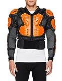 Fox Herren Titan Sport Jacke, Black/Orange, M