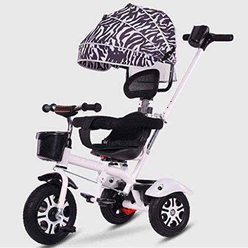 ZGP &Cochecito de bebé Bicicleta de Triciclo para niños 3-6 años de Edad Silla de Paseo Cochecito de bebé Ligero (Color : 7#)