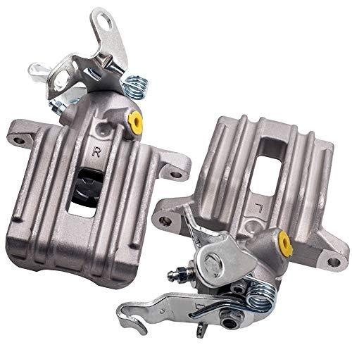 maXpeedingrods 2x Bremssattel Bremszange Bremsen Hinten Links + Rechts Für A3 8P Golf 5 6, 1K0615423J /4J