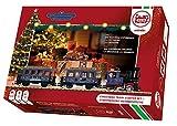LGB Startset Weihnachtszug Set de iniciación de Navidad para Principiantes, maqueta de ferrocarril para un jardín Adecuado para Todo Tipo de Clima, Color Escala g (Gebr.Märklin & CIE.GmbH L70305)