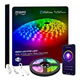Smart LED Strip Lights Gosund Led Lights Compatible with Alexa and Google Home, 5050 RGB Color…