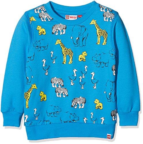 Lego Wear Lego Duplo Sander 110-Sweatshirt Sweat-Shirt, Bleu (Blue 538), 3 Ans Bébé garçon