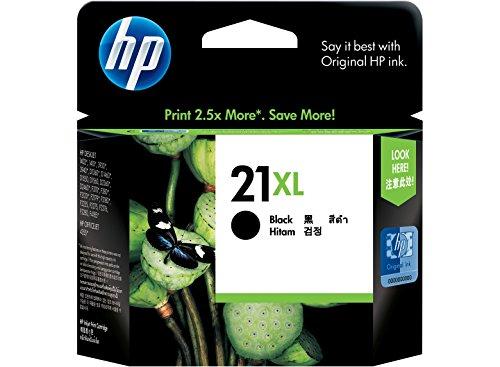 HP 21x L Tintenpatrone Original 1x Schwarz 475Seiten Gehäuse Hartschale