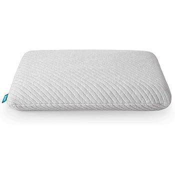 Leesa King Size Cooling Foam Pillow for Sleeping, Grey