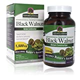 Nature's Answer Black Walnut and Wormwood| Promotes Overall Health and Wellbeing | Vegan, Gluten-Free, Non-GMO & Kosher Certified | Vegetarian Extract Capsules 90Ct