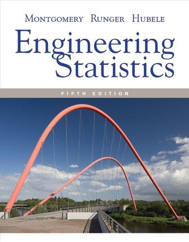 Engineering Statistics 5e