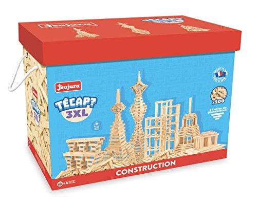 Jeujura jeujuraj8324Tecap Ziegel und Block Spielzeug (3x große, 500STK)