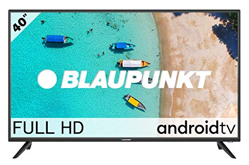Blaupunkt Televisor Android TV LED 40' - Full HD - BA40F4132LEB, Negro