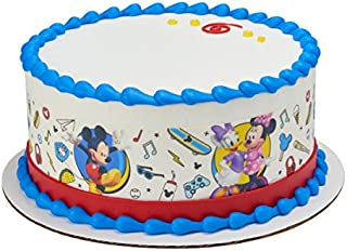 Mickey Mouse & Friends Roadster Racers Licensed Edible Cake Strips #21041