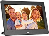ACTITOP Digital Photo Frame, 10-inch Digital Picture Frame with 1080P IPS Screen, Multi-Function and Support USB and SD Card