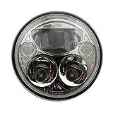 Custom Dynamics TruBEAM 7&Prime, LED Headlight Chrome CDTB-7-C