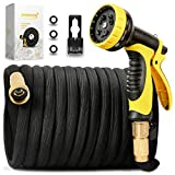 Best Expandable Hoses - [New Double Strength Flexible]Expandable Garden Hose 50ft,Lightweight Water Review