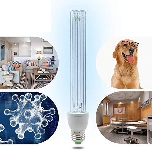 LED 220V Lámpara De Esterilización Con Ozono UV Tasa Anti-Bacterial 99% Desinfección...