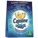 Cajoline Intense Sachets pour Armoire Fraîcheur Printanière 3 sachets, Parfume le linge, Désodorisant, Frais x3 sachets
