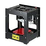 Yuanline NEJE DK-8-FKZ Mini Graveur Laser USB Carver Haute Vitesse Automatique DIY Impression Graveur Sculpture Opération Hors-ligne avec des Lunettes de Protection