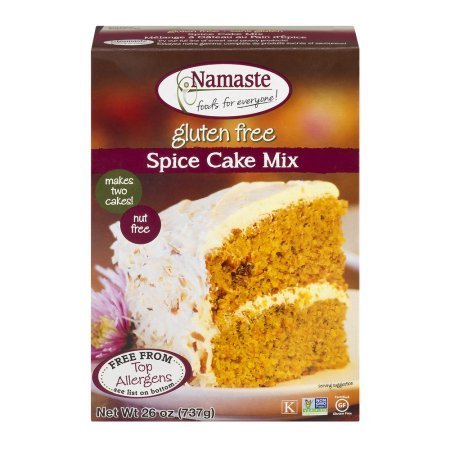 Namaste Foods, Gluten Free Spice Cake Mix, 26-Ounce Bags (Pack of 3)