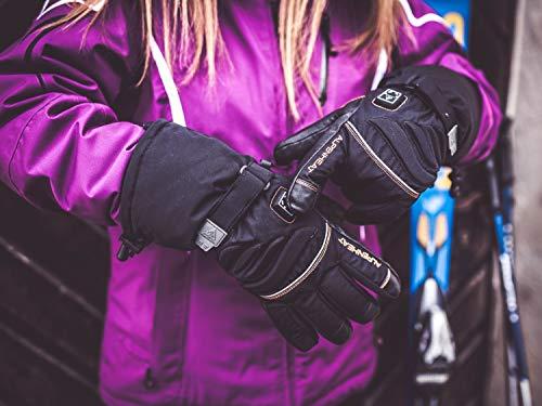 Alpenheat Beheizter Ski Snowboard oder Motorradhandschuh - 9