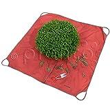 planto Formschnitt-Tuch - das Original, Sauber Buchsbaum schneiden. Arbeitsunterlage für Rück- und Formschnitt. m. 4 Tragegriffen.