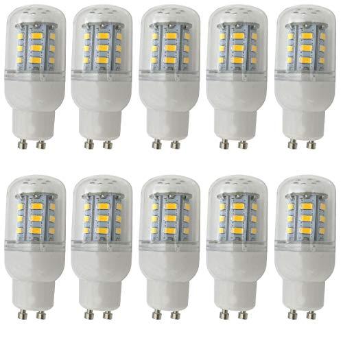 ALBN 10x GU10 LED Glühbirne 4W, Warmweiß, Nicht Dimmbar 24 SMD 5730 LED GU10 Lampe Leuchtmittel, AC220-240V