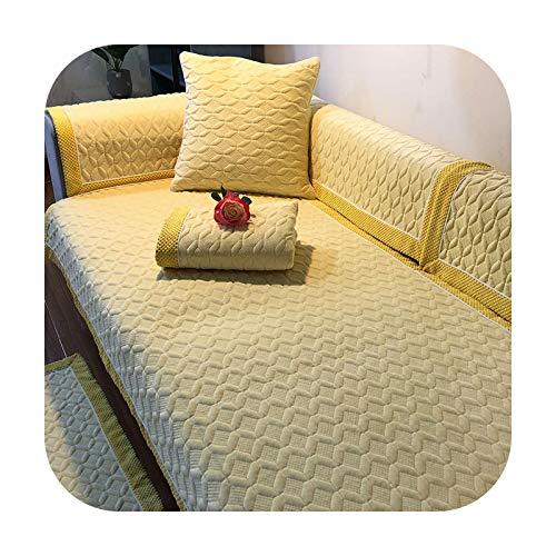 Sofa covers Weicher, kurzer Plüschbezug für Eckcouch, 1 Bezugstück für Sofa, widerstandsfähiges Handtuch, Sitz,...