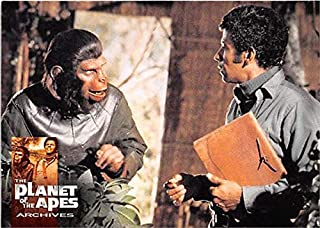 Caesar McDonald trading card Battle for Planet of the Apes Archives 1999#56 Roddy McDowall Austin Stoker