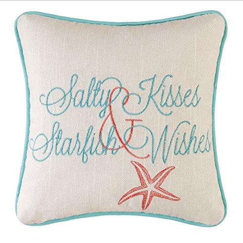 Beach vibe decorative pillow