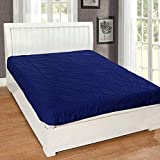 Rajasthan Crafts Microfiber Water Proof and Dustproof King Size Mattress Protector (Blue, 78 x 72...