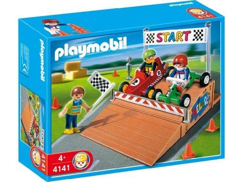 Playmobil - 4141 - Compact set pilotes et Kart