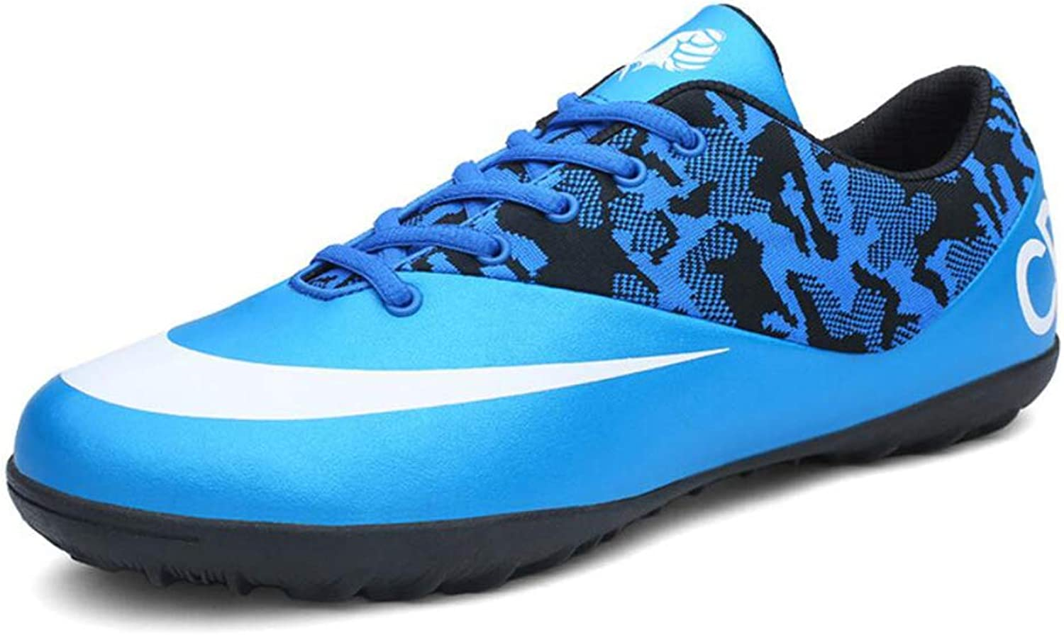 Men's Soccer shoes Soccer Cleats Comfort Football Boots Football Soccer Anti-Slip, Personality Low-Top Women's Sneakers, Non-Slip,Short Spike Training shoes (color   A, Size   39)