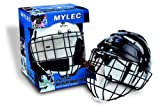 Mylec Sr. Helmet with Wire Face Guard, White , Large