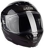 Lazer MLE041000D30L Monaco Evo Pure Carbon Casque de moto modulable Noir carbone Taille L