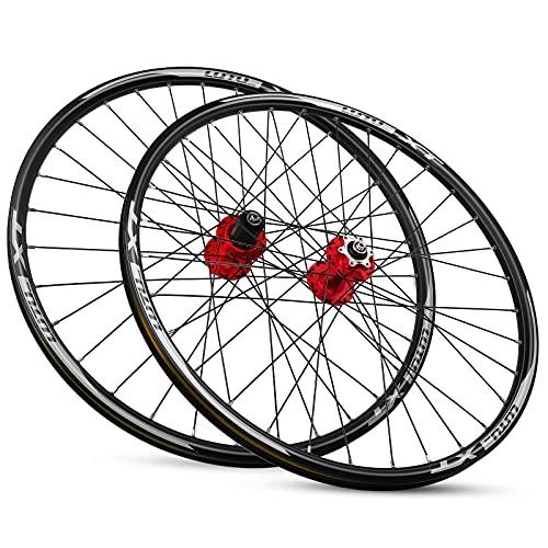 ZCXBHD MTB Ruedas Bicicleta 29 Pulgadas Llanta de Aleación de Doble Capa QR Freno Disco Freno de Rodamiento Sellado de 8 9 10 11 Velocidades