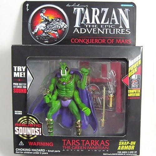 Tarzan Epic Mars Figure Tars Tarkas the Grün Martian by Tarzan