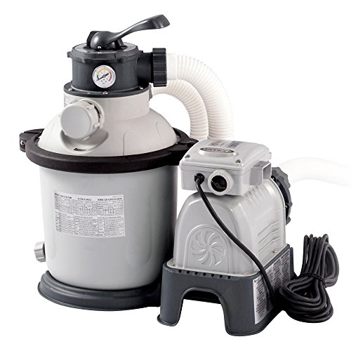 Intex Krystal Clear Sand Filter Pump - Poolreinigung - Sandfilteranlage - 4,5 m³ - 220-240V