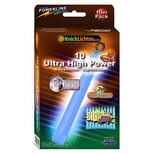 LED-Highlights Lot de 10 Ultra High Power Bleu. extrêmement clair. Extra Épais. 150 x 15 mm. Le économie d'Big Pack. Dernière génération. Sous Label eigenem Fabrication.