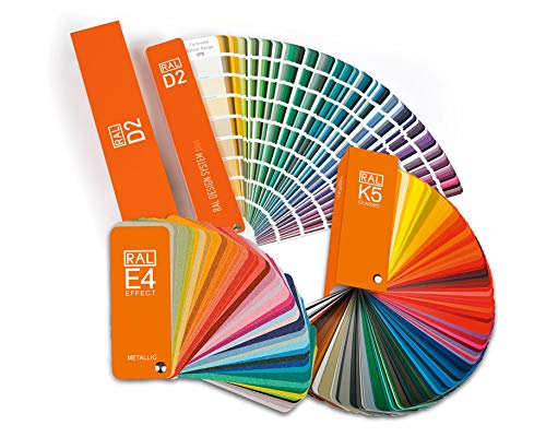 RAL Farbfächer Set alle Fächer K5 Classic Fächer E4 Effekt Fächer D2 Design Fächer