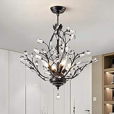 Modern Elegant K9 Crystal Chandelier Pendant Ceiling Lighting Fixture - 4 Lights