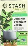(NOT A CASE) Organic Premium Green Tea 18 Tea Bags