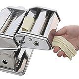 Innovee Nudelmaschine höchster Qualität – 150 Rolle mit Pasta-Schneidemaschine – 9 verstellbare Dickeeinstellungen – Für perfekte Spaghetti oder Fettuccini – Wärmebehandelten Zahnräder zu langer Nutzungsdauer - 3