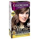 Colorcrem Color & Brillo Tinte Capilar Marrones Sublimes Color Rubio Caramelo - 1 Pack de 3 unidades