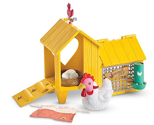 American Girl Welliewishers Chicken & COOP Doll Accessories