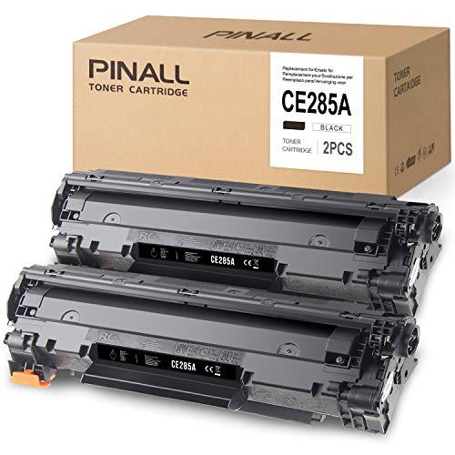PINALL 85A CE285A - Cartuchos de tóner compatibles con HP 85A 285A CE285A para HP LaserJet Pro P1102 P1102w M1214nfh M1132 M1217nfw MFP LaserJet Pro M1218nfs MF3010 MFP I-Sensys LBP-6002020 2 . )