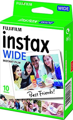 Fujifilm instax WIDE - Película fotográfica instantánea de gran formato (10 hojas)