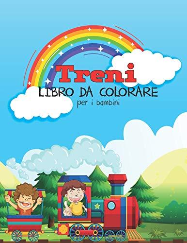 Treni Libro Da Colorare Per I Bambini