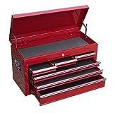 チェスト ツールボックス キャビネット ツールボックス 工具箱 赤 0207