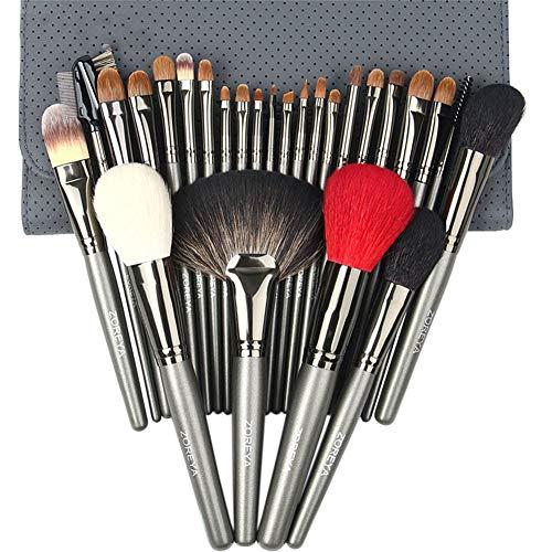 Pinceaux Maquillage 26pcs Professionnel pièces Cosmétique Kit pour Crème Fusion de Fond de Teint Concealer Eye Visage Synthétique la Laine Pinceaux de Maquillage